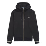 Fred Perry Hooded Jacket <p>Black