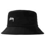 Stussy Stock Bucket Hat<p>Black
