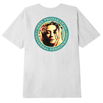 Obey  Universal Person Classic Organic T.shirt <p> White