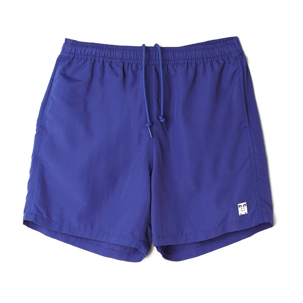 Obey Easy Relaxed Blue Short<p>Ultramarine