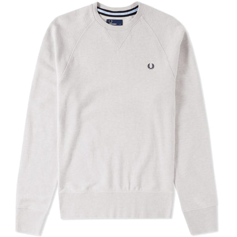 Fred Perry Loopback Crew Sweat<p>Natural Marl