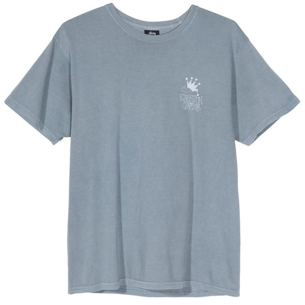 Stüssy Kingston Chapter Pigment Dyed Tee <p>Slate