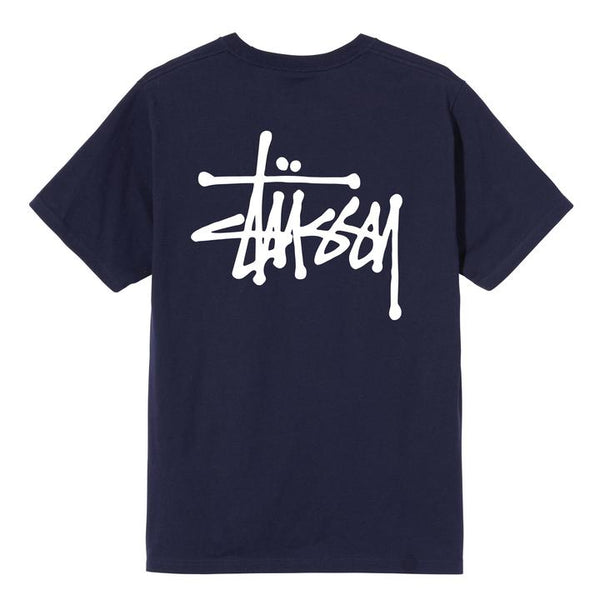 Stüssy Basic  Tee <p>Navy