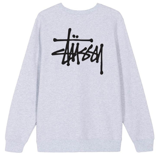 Stüssy Basic Crew<p>Ash Heather