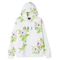 OBEY Brainiac Pullover<p>White Multi