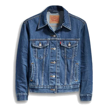 Levi's® Ex-Boyfriend Trucker Jacket<p>New Bleu