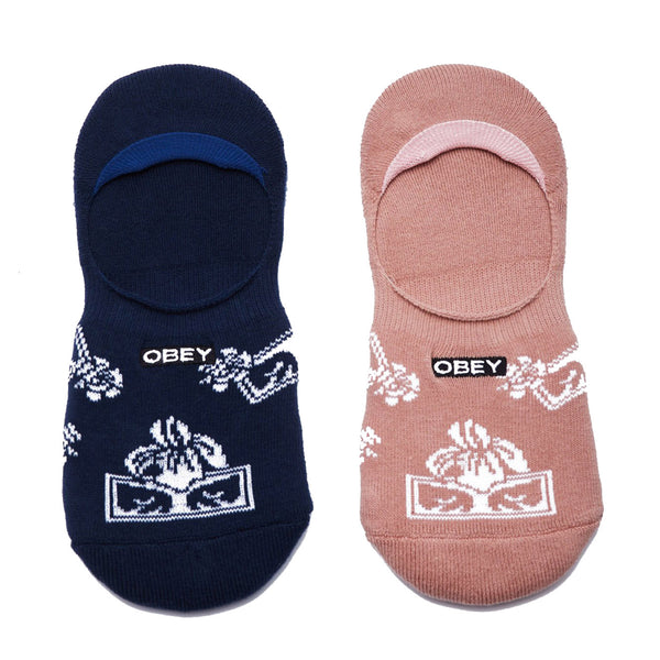 Obey Three Graces Socks <p> Multi