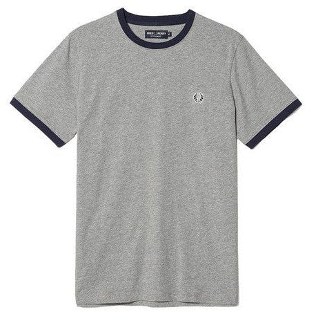 Fred Perry Ringer T-Shirt <p>Steel Marl