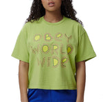 Obey Come Together Tee <p>Lime
