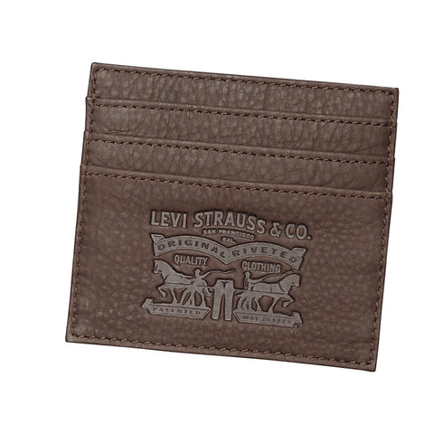 Levi's two side Card Wallet<p>Brown