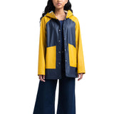 Herschel Women Rainwear Classic Jacket<p>Peacoat/Arrowwood