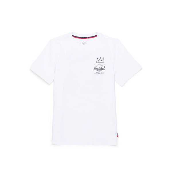 Herschel ft. Basquiat Womens Tee <p>White