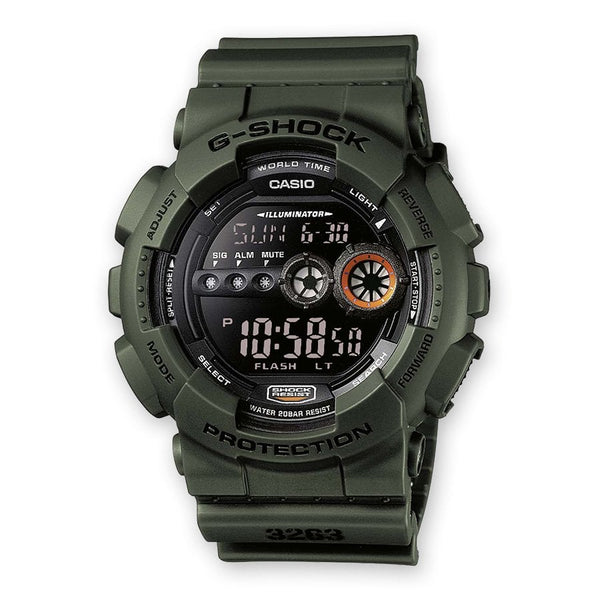 G-Shock<p>GD-100MS-3ER
