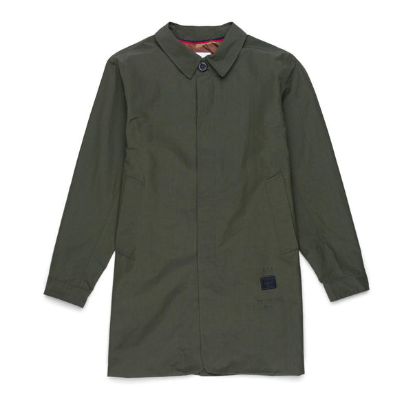 Herschel ft. Basquiat Mac Jacket <p>Olive Green