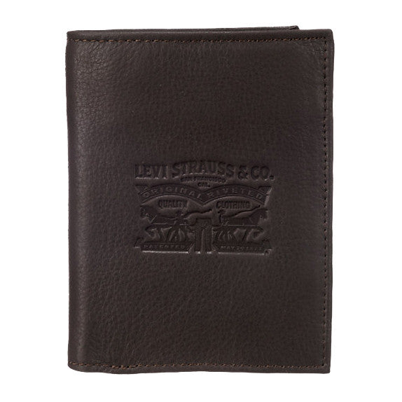 Levi's Large Wallet<p>Brown