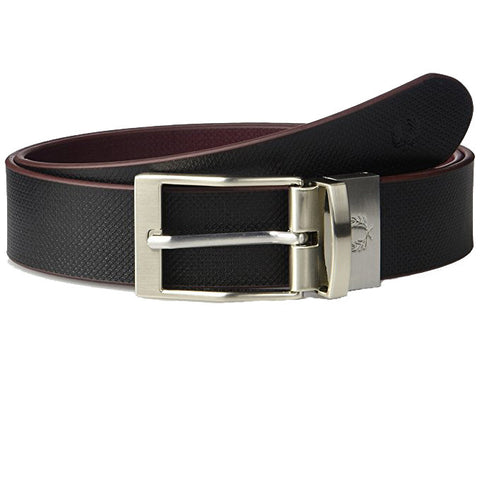 Fred Perry Textured Reversible Belt<p>Black/Brown