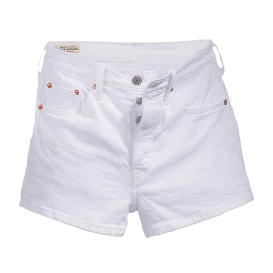 Levi's 501® High-Waisted Shorts<p>In the Clouds