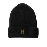 HUF Brass H Military Beanie<p>Black