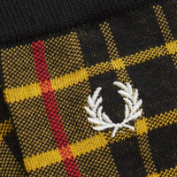 Fred Perry Mod Scott Tartan Socks<p>Bright Yelow