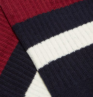 Fred Perry Tipped Sport Socks<p>Navy