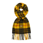 Fred Perry Mod Scott Tartan Scarf<p>Bright Yellow