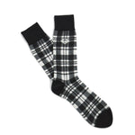 Fred Perry Mod Scott Tartan Socks<p>Black / Snowwhite