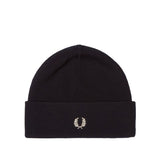 Fred Perry Merino Wool Beanie<p>Black