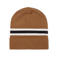 Fred Perry Merino Wool Beanie<p>Dark Caramel