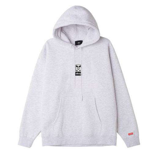 Obey Icon Face 30 Years Box Fit Hood <p>Heather Ash