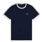 Fred Perry Taped Ringer T-Shirt <p>Carbon Blue