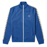 Fred Perry Sports Authentic Taped Track Jacket<p>Nautical Blue