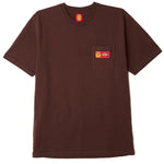 Copy of OBEY X Dickies Heavyweight Pocket T-Shirt<p>Chocolate Brown