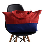 Pray for Rain Scuba Weekender Bag <p>Red & Blue