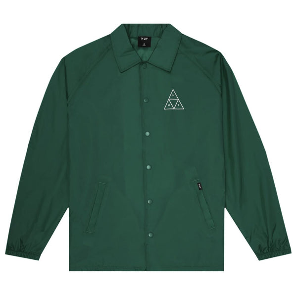 HUF Essentials TT Coach Jacket <p>Botanical Green