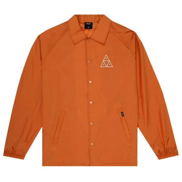 HUF Essentials TT Coach Jacket <p>Rust