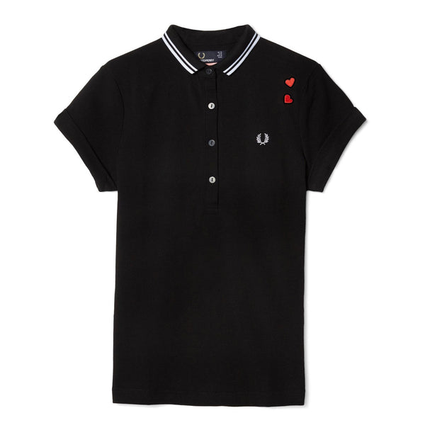 Fred Perry x Amy Whinehouse Pique Shirt<p>Black