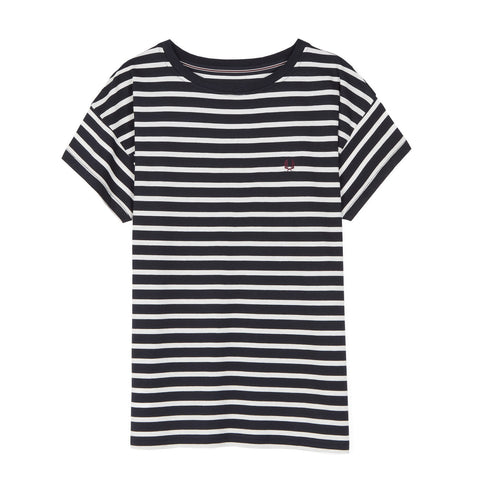 Fred Perry Classic Stripe T-Shirt<p>Navy