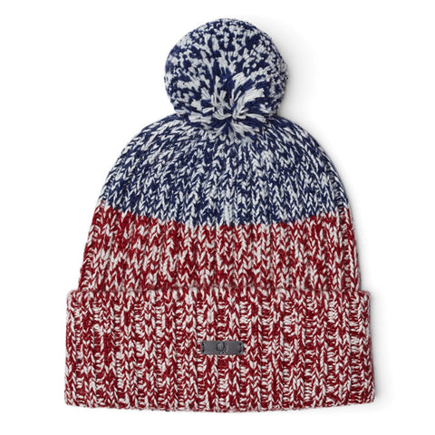 Fred Perry Flecked Beanie<p>Maroon