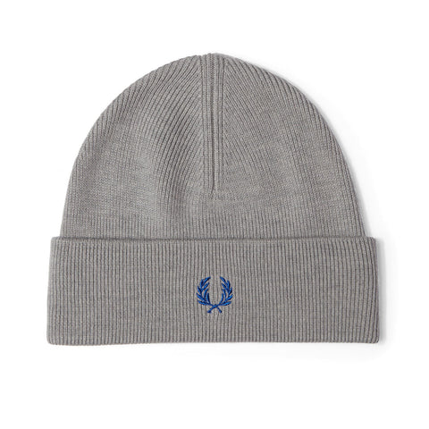 Fred Perry Merino Wool Beanie<p>Steel Marl