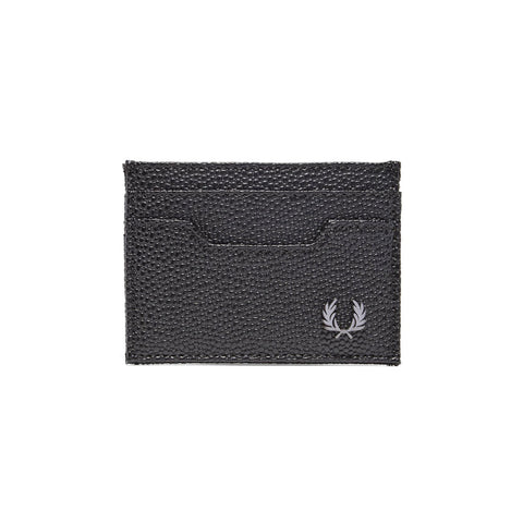 Fred Perry Scotch Grain Cardholder<p>Black