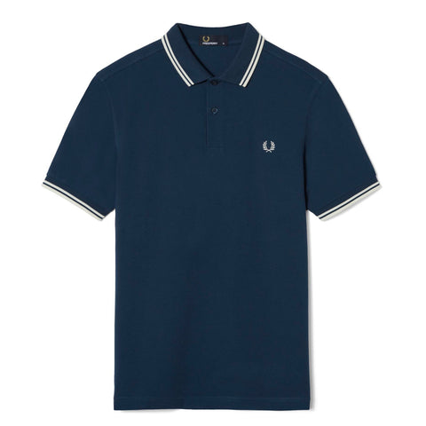 Fred Perry Twin Tipped Shirt<p>Service Blue