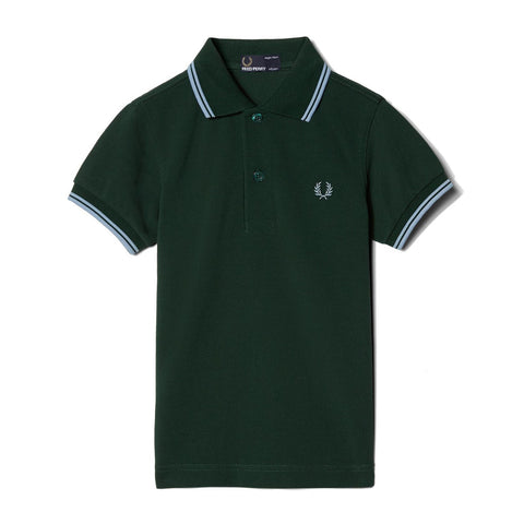 Fred Perry Kids Twin Tipped Shirt<p>Ivy
