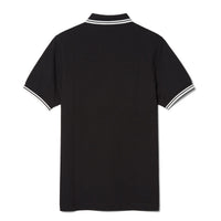 Fred Perry M3600 Polo Shirt<p>Black/ White