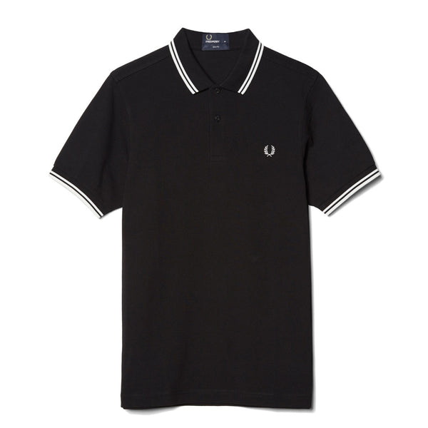 Fred Perry M3600 Shirt<p>Black/ White