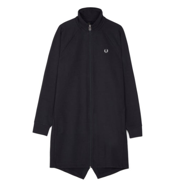 Fred Perry Reverse Tricot Parka<p>Navy