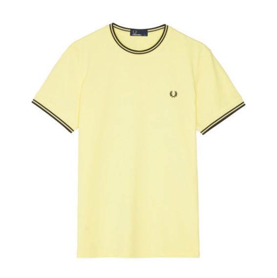 Fred Perry Twin Tipped T-shirt<p>Wax Yellow