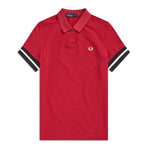 Fred Perry Tipped Polo Shirt<p>Claret