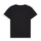 Fred Perry Taped Ringer T-Shirt <p>  Black/ Snow White