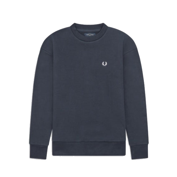 Fred Perry Taped Sweatshirt<p>Deep Carbon Marl