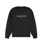 Fred Perry Graphic Sweatshirt<p>Black